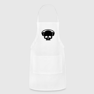 Skull with Headset - Adjustable Apron