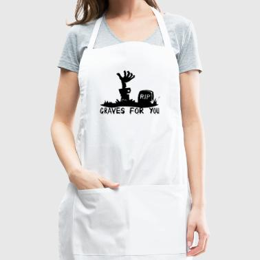 Graves for you - Adjustable Apron