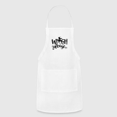 Witch Please Halloween - Adjustable Apron