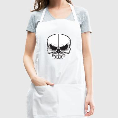 angry skull - Adjustable Apron