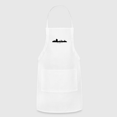 Madrid Spain Skyline - Adjustable Apron