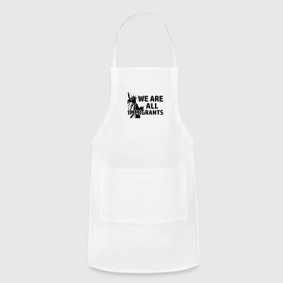 Anti-trump design - Adjustable Apron
