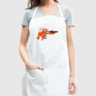 Shrimp cook seafood plankton wildlife lobster cool - Adjustable Apron