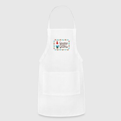 Gnome Sweet Gnome - Adjustable Apron