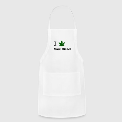 I love sour diesel - Adjustable Apron