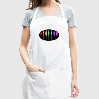 Rainbow Matches - Adjustable Apron