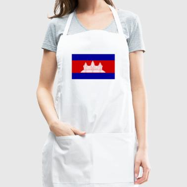 National Flag Of Cambodia - Adjustable Apron