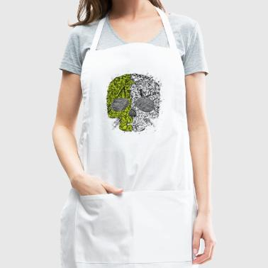 Skull Ornament - Adjustable Apron