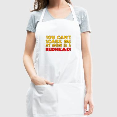 My Mom Is A Redhead - Adjustable Apron