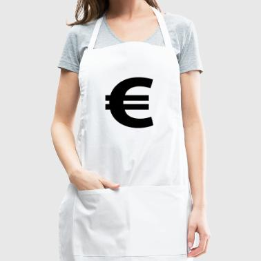 Euro Sign - Adjustable Apron