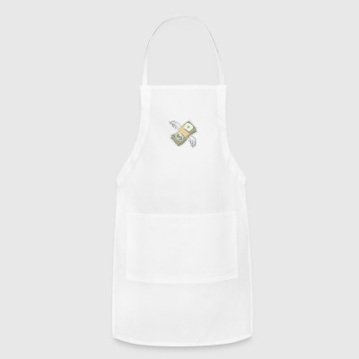 Flying dollar - Adjustable Apron