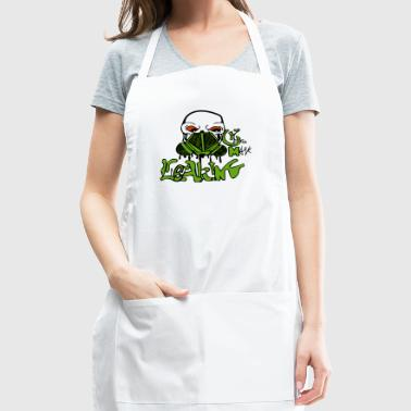 Leaking Gas Mask - Adjustable Apron