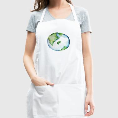 Earth day love - Save our planet - Adjustable Apron