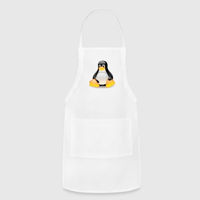 funny penguin comic style - Adjustable Apron