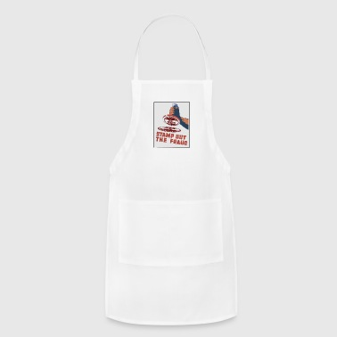 stamp out fraud - Adjustable Apron