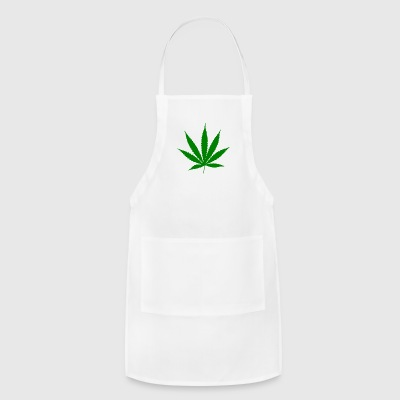 Cannabis leaf - Adjustable Apron