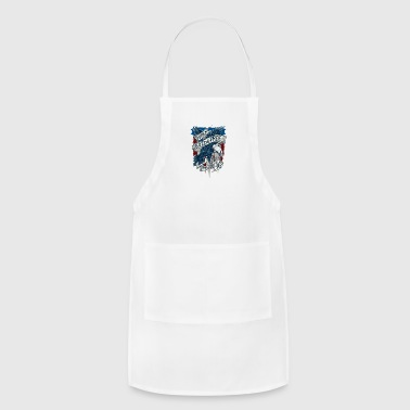 Merica home of the wild free eagle - Adjustable Apron