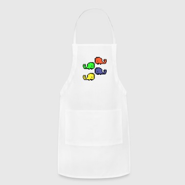 Whale Party! - Adjustable Apron