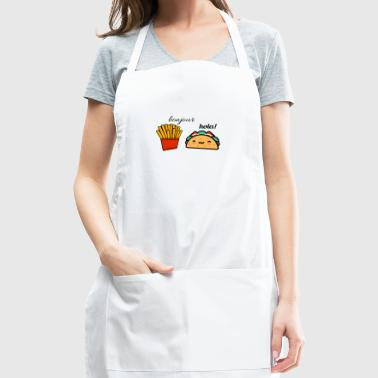 Taco and fries - Adjustable Apron