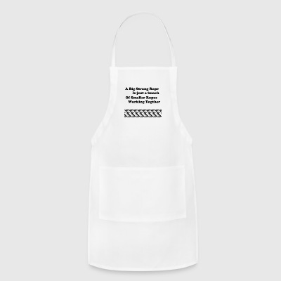 Rope inspiration. - Adjustable Apron