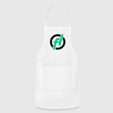Fallout-Hosting Dark Icon - Adjustable Apron