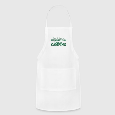 Camping retirement - Adjustable Apron