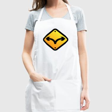 Sign: Fork In The Road - Adjustable Apron
