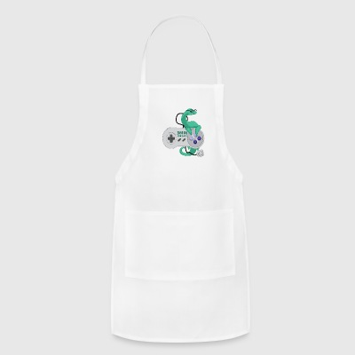 nessamonsta logo snes - Adjustable Apron