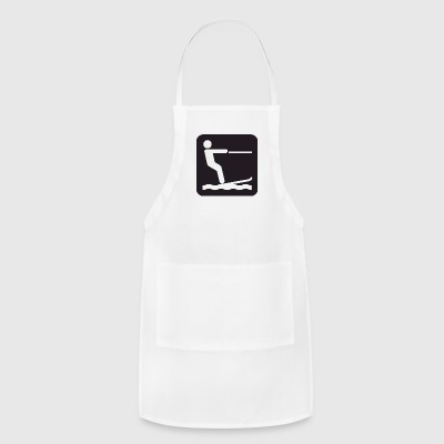 water ski - Adjustable Apron
