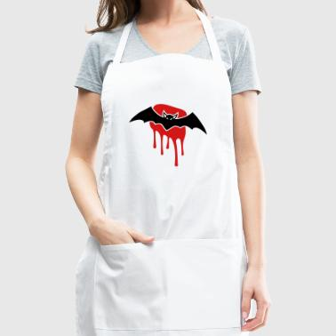 Bat with blood stain - Adjustable Apron