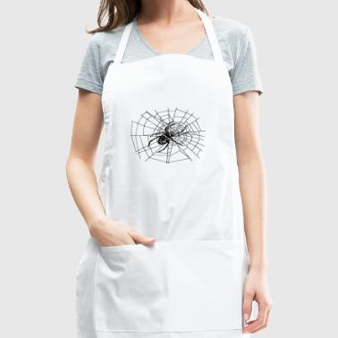 spider in the web - Adjustable Apron