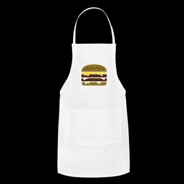 Burger with cheese - Adjustable Apron