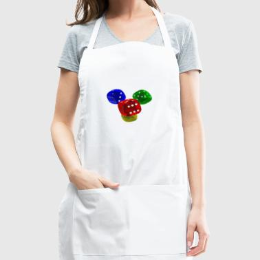 playing cubes - Adjustable Apron