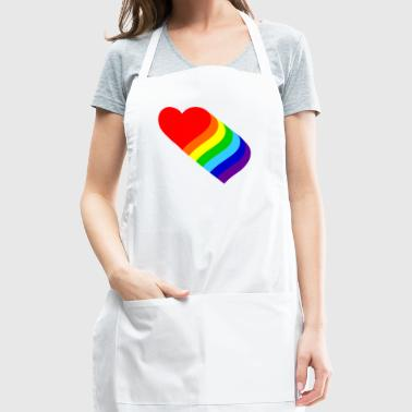 Homosexual Heart Peace - Adjustable Apron