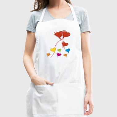 valentine's day - Adjustable Apron