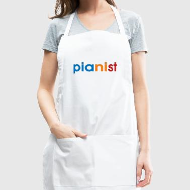 colorful pianist - Adjustable Apron