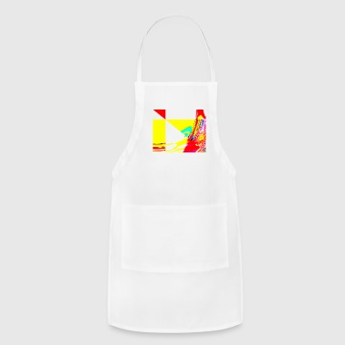 the wind is blowing - Adjustable Apron