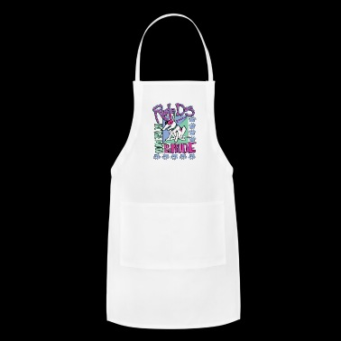 rude dog - Adjustable Apron