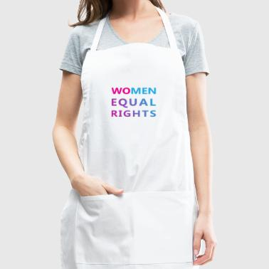 Women Rights Equal Rights - Adjustable Apron