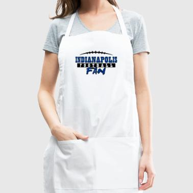 Indianapolis football fan - Adjustable Apron