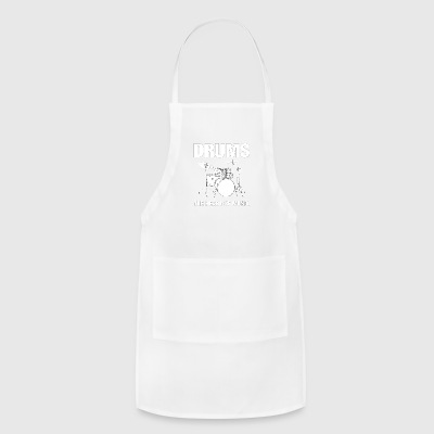 Drums The Heart Of Music - Adjustable Apron