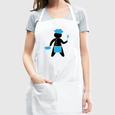 A Gourmet Chef Cooks In The Kitchen - Adjustable Apron