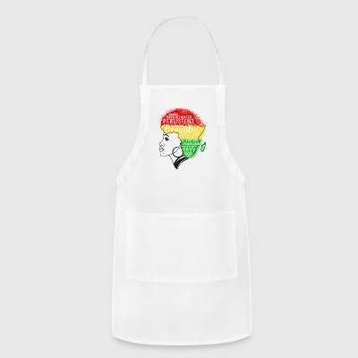 AFRO BEAUTIFUL GIRL - Adjustable Apron