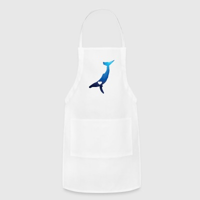 Heart Your Humpback Whale - Adjustable Apron
