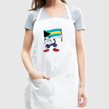Bahamas Dabbing Soccer Ball - Adjustable Apron