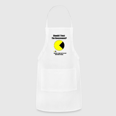 Government Trust Pie Chart - Adjustable Apron