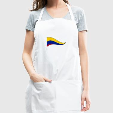Colombia South America Meran Flags Banner Ensigns - Adjustable Apron
