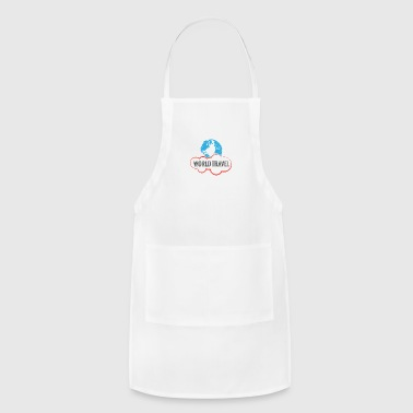 GIFT - WORLD TRAVEL - Adjustable Apron