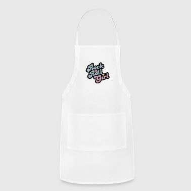 Rock n Roll girl - Adjustable Apron