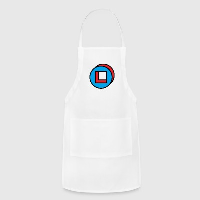 circle square - Adjustable Apron